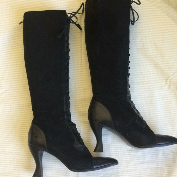 Anne Klein Shoes - Anne Klein Couture lace up boot